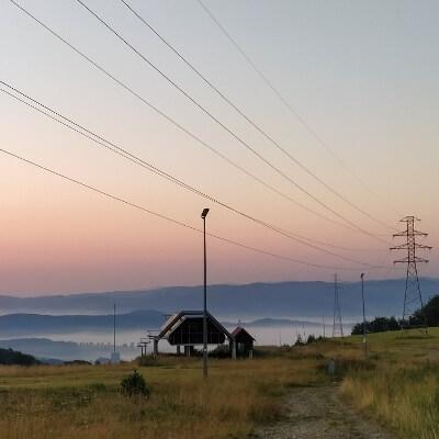 Wschód słońca na szczawniku